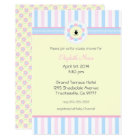 Pink and Blue-Baby Shower- Card