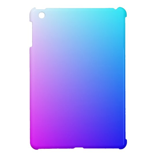 Pink and Blue Blend iPad Mini Case Savvy