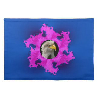 Pink and Blue Frame American MoJo Placemats
