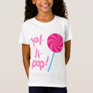 Pink and Blue Lollipop T-Shirt