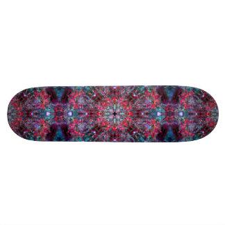 Pink and Blue Mandala Custom Skateboard