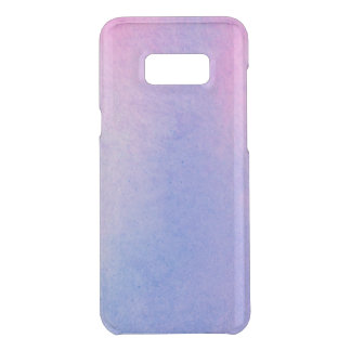 Pink and Blue Marble Watercolour Uncommon Samsung Galaxy S8 Plus Case