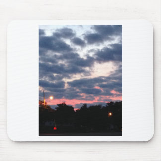 Pink and Blue Sunset Mousepads