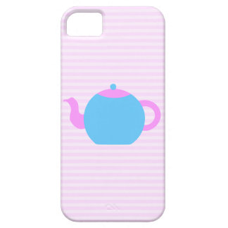 Pink and Blue Teapot Picture. iPhone 5 Covers