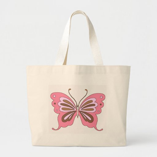 Pink and Brown Butterfly Bags