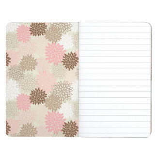 Pink And Brown Mum Pattern Journal