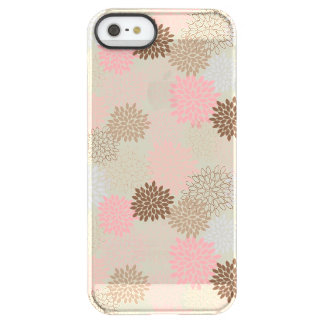 Pink And Brown Mum Pattern Permafrost® iPhone SE/5/5s Case