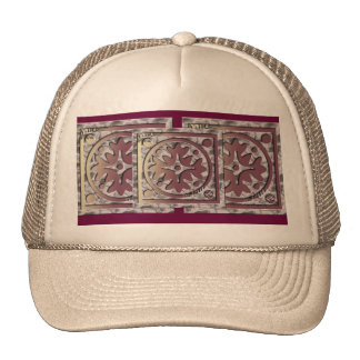 Pink and Burgundy Cap Trucker Hats