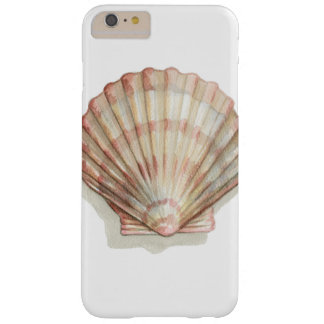 Pink and Cream Seashell Barely There iPhone 6 Plus Case