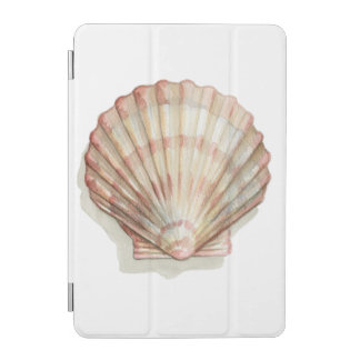Pink and Cream Seashell iPad Mini Cover