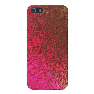 Pink And Gold Pattern Covers For iPhone 5
