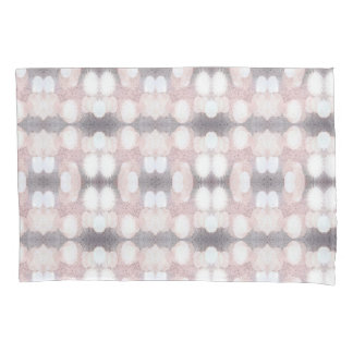 Pink And Gray Glitter Looking Pattern Pillowcase