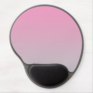 """Pink And Gray Ombre"" Gel Mouse Mat"