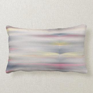 Pink and gray pastel pillow matching duvet