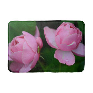 Pink and Green Buds Mat