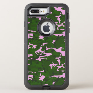 Pink and Green Camo OtterBox Defender iPhone 8 Plus/7 Plus Case