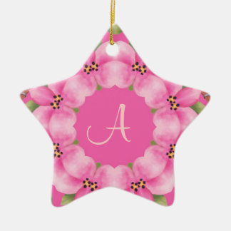 Pink and Green Christmas Ornament
