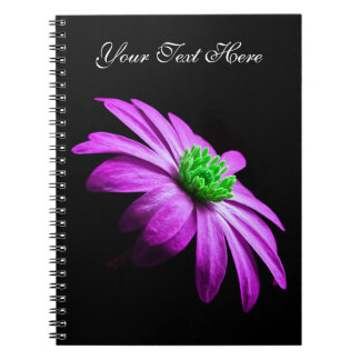 Pink and Green Daisy Notebooks