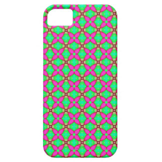 pink and green funky phone case