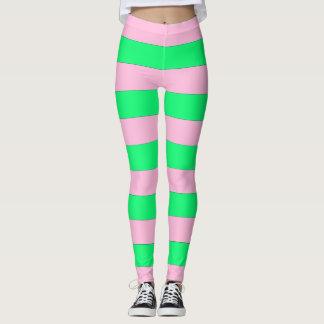 Pink And Green Leggings! Leggings