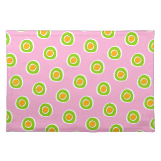 Pink and Green Placemat