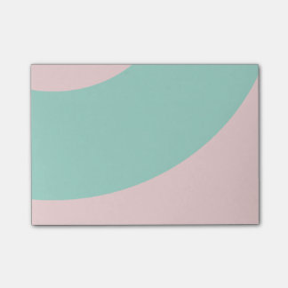 Pink and Green Post-it® Notes