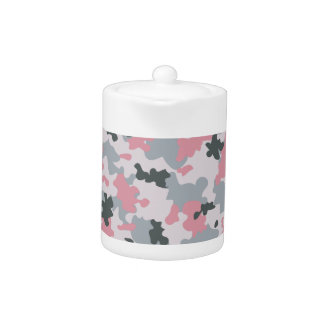 Pink and Grey Camouflage