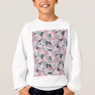 Pink and Grey Camouflage Sweatshirt