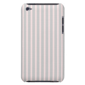 Pink and Grey Stripes iPod Touch Case-Mate Case