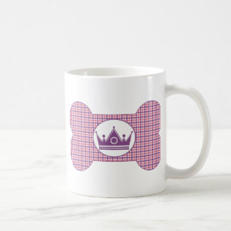 Pink and Lavender with Lavender Crown.png Basic White Mug