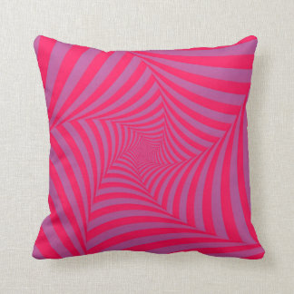 Pink and Lilac Spiral American MoJo Pillows