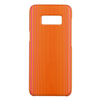Pink and Orange Striped Pattern Case-Mate Samsung Galaxy S8 Case