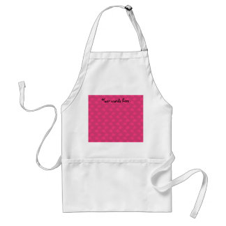 Pink and pink christmas bells standard apron