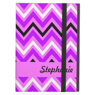 Pink and Purple Chevron Pattern Cover For iPad Air
