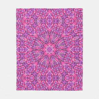 Pink And Purple Custom Fleece Blanket 3 sizes
