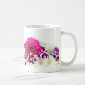 Pink and Purple Flower Bouquet Coffee Mug