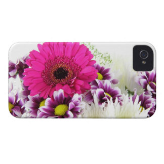 Pink and Purple Flower Bouquet iPhone 4 Case-Mate Case