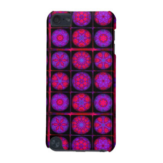 Pink and Purple Fractal Collage iPod Touch 5G Cover