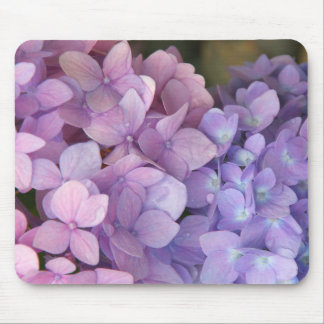 Pink and Purple Hydrangea Mousepad