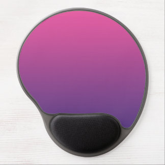 """Pink And Purple Ombre"" Gel Mouse Pad"
