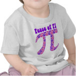 Pink and Purple Peace Pi T-shirt