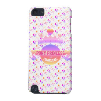 Pink and Purple Pony Princess iPod Touch (5th Generation) Cover