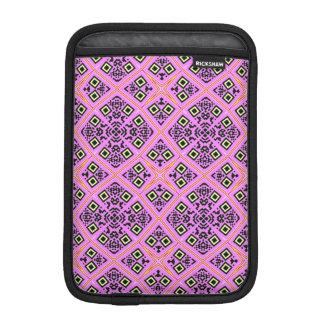 Pink and Purple Retro Sleeve For iPad Mini