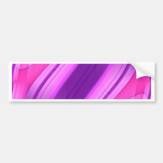 pink and purple symmetry 1 designed by Tutti Bumper Sticker