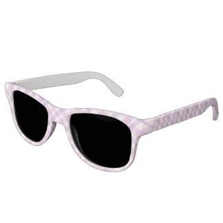 Pink and Purple Tartan Sunglasses