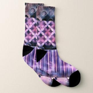 Pink and Purple Vibe Socks
