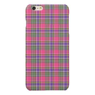 Pink and Purple Vintage Plaid iPhone 6 Plus Case
