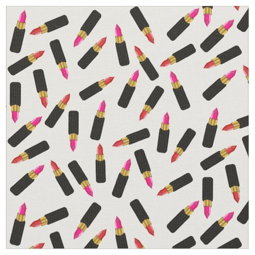 Pink and Red Chic and Sultry Lipstick Pattern