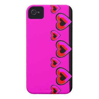 Pink and red Hearts BlackBerry Bold Case-Mate