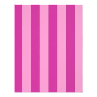 Pink and Red-violet Stripes Flyer